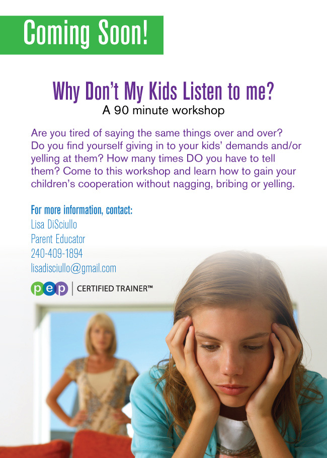 Why Don't My Kids Listen to Me?