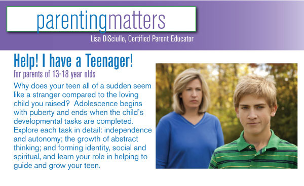 Help! I have a Teenager!