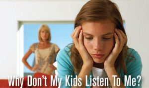 Why Don't My Kids Listen To Me? (for parents of 5-18 year olds) @ New Providence Memorial Library | New Providence | New Jersey | United States